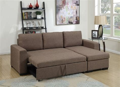 loveseat pull out modular sectional set sofa w pull out bed storage chaise