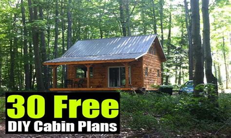 cabin building plans free small cabin building plans free diy cabin plans