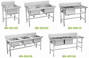 Commercial Stainless Steel Utility Sink With Stand Double