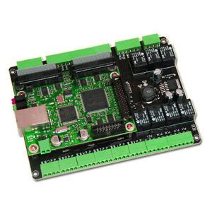 cnc breakout board ethernet smooth stepper mach3 motion controller cm106 ess 654469849016 ebay