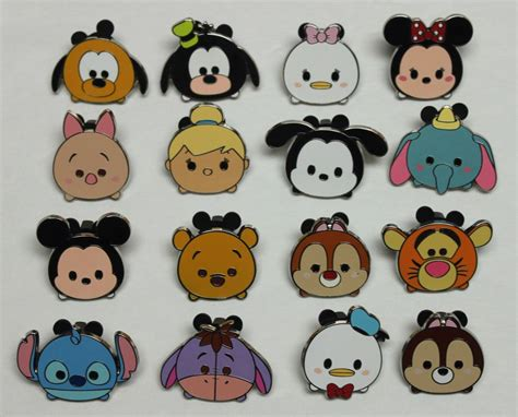 Complete Disney 2015 Set 16 Tsum Tsum Characters Mystery