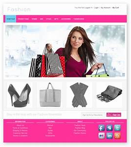 fresh and free fashion store template dmxzonecom With fashion designing templates free download