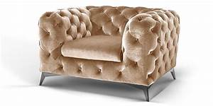 Chesterfield Sofa Samt : chesterfield sessel big emma samt moebella24 ~ Whattoseeinmadrid.com Haus und Dekorationen