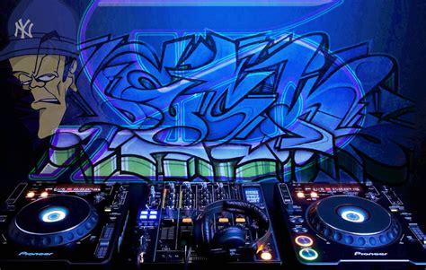 Graffiti Dj : Unique Dj Deck #5 Dj Turntables Graffiti Art