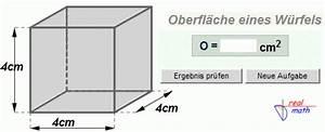 Oberfläche Eines Würfels Berechnen : oberfl che berechnen haus design und m bel ideen ~ Themetempest.com Abrechnung