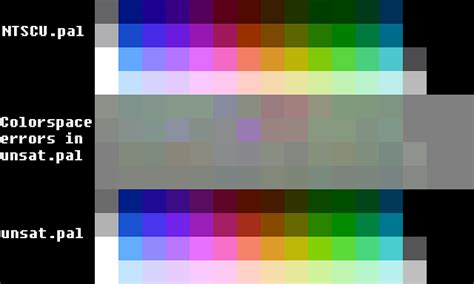 rgbsource creating  accurate nes ntsc color palette