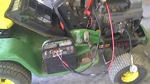 Lot 1578a John Deere Lx188 Engine Compression Test