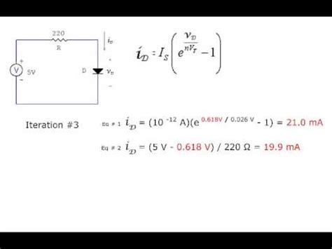 Diode Circuit Analysis Youtube