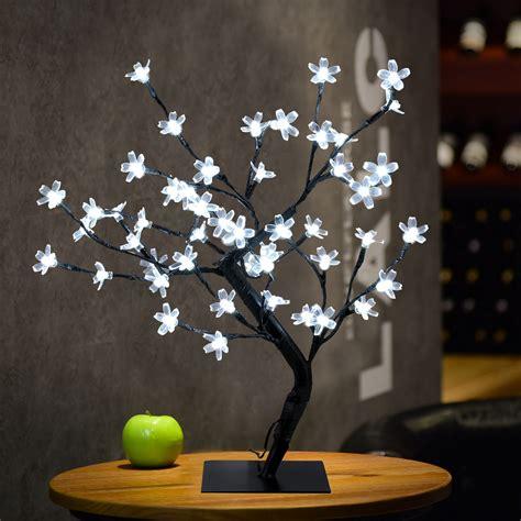 3x1 5ft 48led white cherry blossom tree light indoor