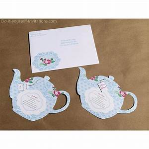 tea tag template printable tea party invitation bridal tea party invitation