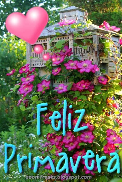 ZOOM FRASES: Saludos Feliz Primavera