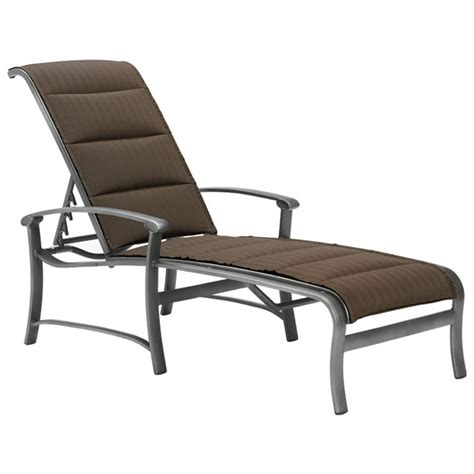 chaises discount tropitone 880632ps ovation padded sling chaise lounge