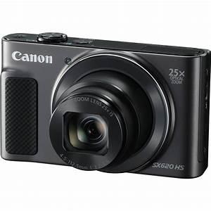 Canon Powershot Sx620 Hs Digital Camera  Black  1072c001 B U0026h