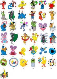 Sesame Street Characters Names