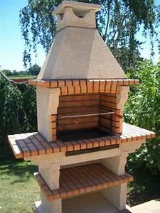 17 meilleures idees a propos de barbecue en pierre sur With modele de barbecue exterieur