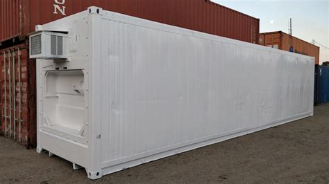 40' Insulated Storage Container  Conexwest (usa