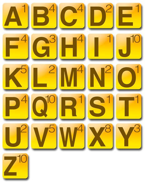 printable scrabble tiles for word work 8 best images of printable letter tile words