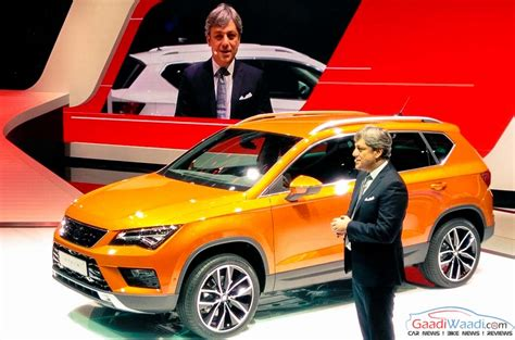 seat ateca 2016 seat ateca makes global debut at 2016 geneva motor show