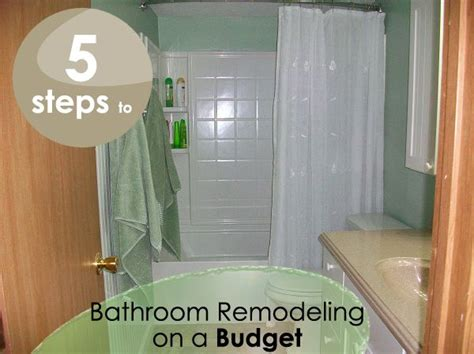 bathroom remodel steps the steps to bathroom remodeling for the home pinterest