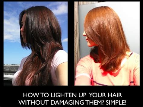 Ways To Lighten Hair Without Damaging It by How I Dyed My Hair Orange With Baq Henna And Prism Lites