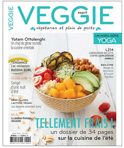 cuisiner magazine concours gagnez 2 exemplaires du magazine quot esprit veggie