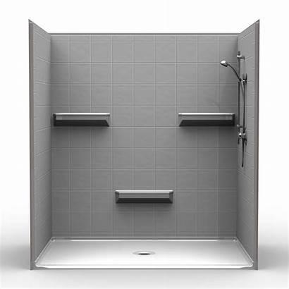 Shower 72 Inch Piece Barrier Tile 48