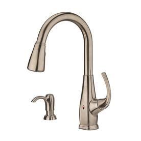 shop kitchen faucets at lowes com