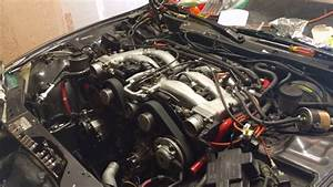 Nissan 300zx After Replacing Timing Belt  Gaskets  Hoses