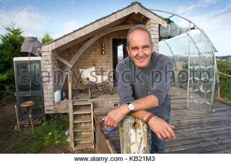 kevin mccloud shed kevin mccloud with his shed in watchet somerset stock