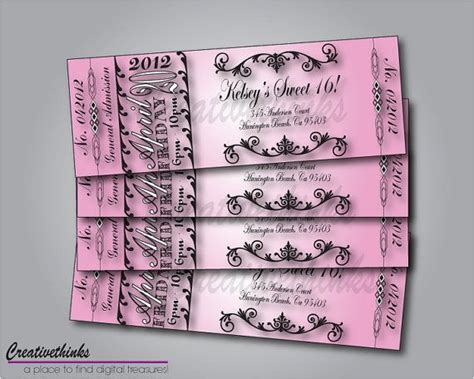16th Birthday Invitations Templates by Free Sweet Sixteen Invitation Templates Printable Sweet