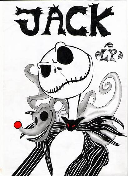Nightmare Jack Skellington Before Christmas Coloring Pages