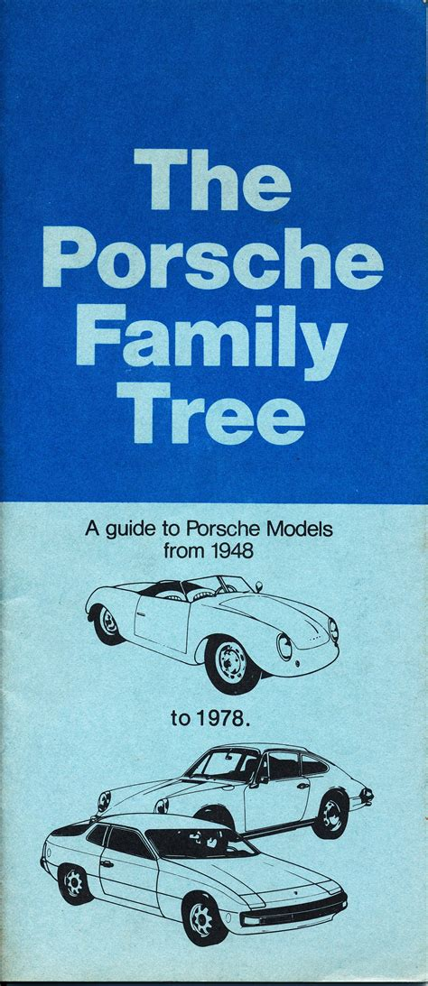 volkswagen family tree thesamba com vw archives 1977 the porsche family tree