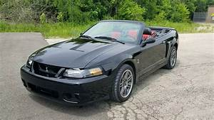 2003 Mustang Cobra Convertible 10th Anniversary - YouTube