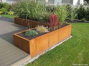 Plantes De Terrasse with Contemporain Jardin – décoration