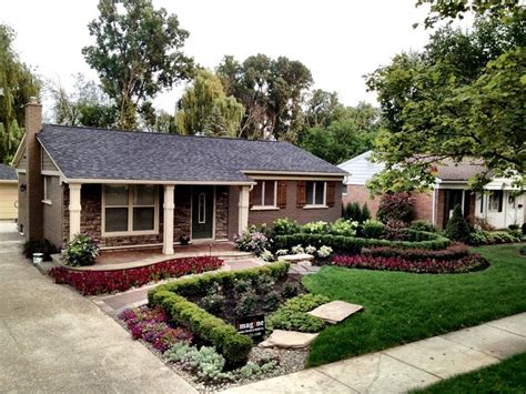 Front Yard Before & Afters  Landscaping Network