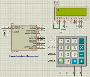 How To Interface Keypad With Pic16f628a