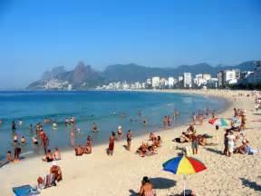 Ipanema Beach Rio Janeiro Brazil