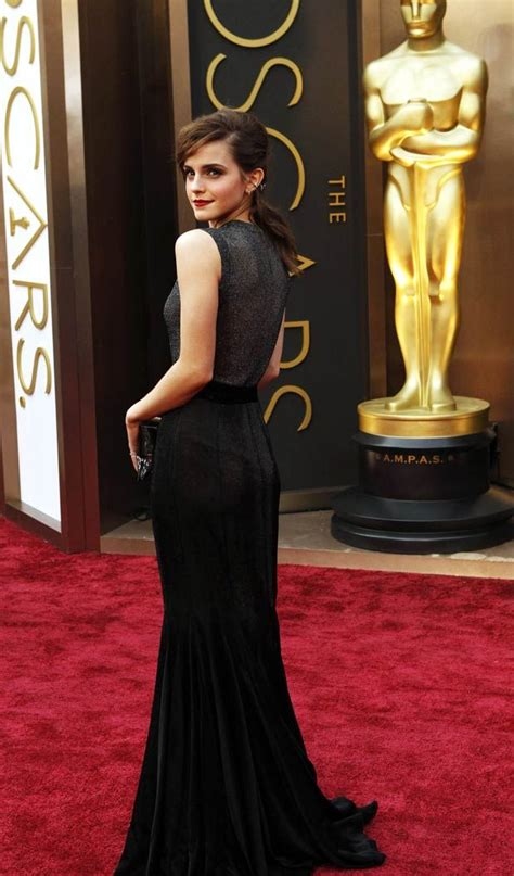 Emma Watson Amazing People Oscar Dresses