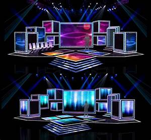 Download Concert stage design 7 free 3D model or browse ...