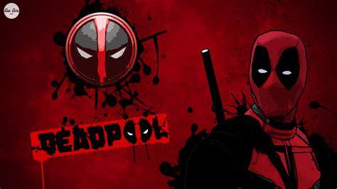 Dark Red Desktop Wallpaper Deadpool 2016 Art Wallpaper 2018 In Movies