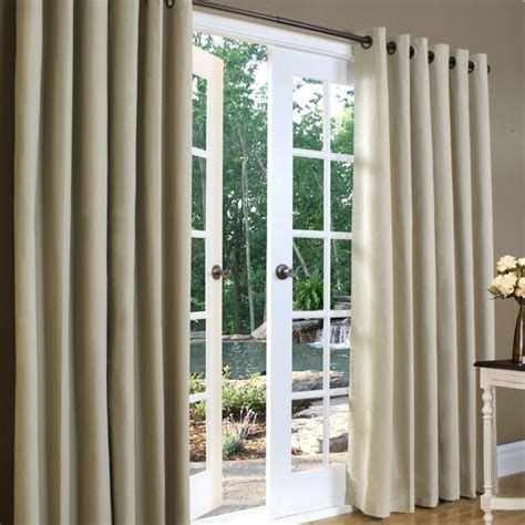 Grommet Curtains For Sliding Glass Doors by Insulating Curtains For Sliding Glass Doors House Ideas