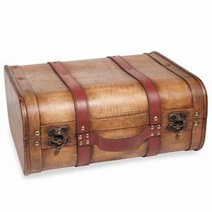 Valise En Bois : valise en bois 30 x 36 cm malawi gypset maisons du monde ~ Teatrodelosmanantiales.com Idées de Décoration