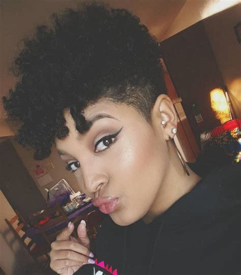 natural tapered cuts   face shape bglh