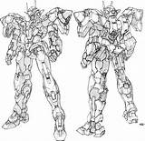 Gundam Lineart Concept Exia Oo Mobile Suit Transformers Pg Coloring Strike Scale Mechanical Raiser Google Nu Scheme Aile Competition Gn sketch template