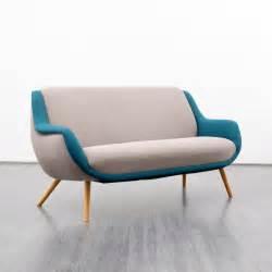 Blue and Grey Sofa