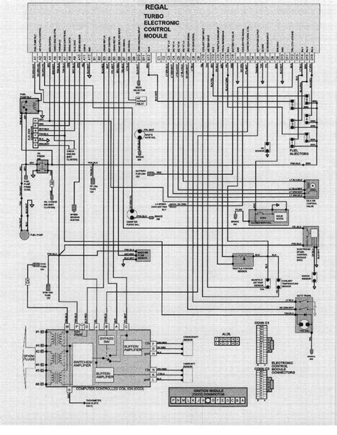 1985 Buick Century Wiring Diagram by Ecm And Sensor Information