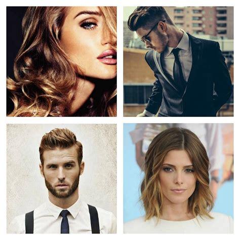trendy frisur  frau und mann   fotos frisuren trends