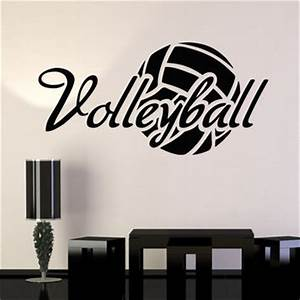 best volleyball wall stickers products on wanelo With the best of volleyball wall decals