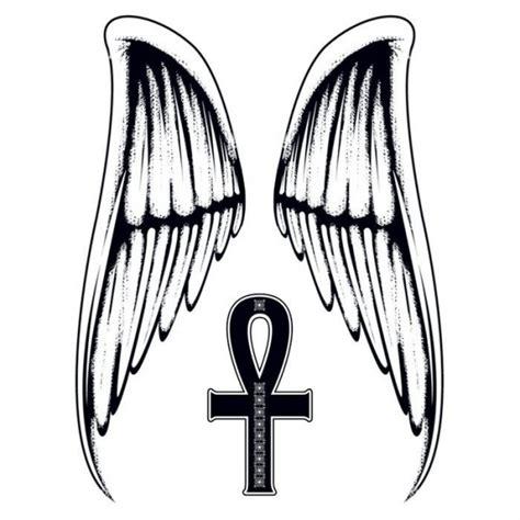 tr 232 s grand tatouage d 233 calcomanie motif ailes d ange www