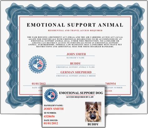 jetblue esa form united service dog emotional support animal registration